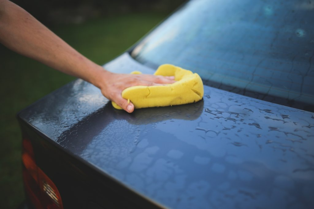 Keep car clean between washes